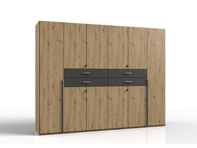 Armoire  portes battantes et 4 tiroirs