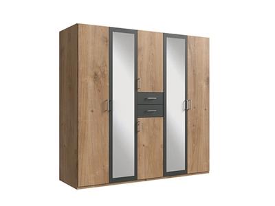 Armoire 6 portes 2 tiroirs