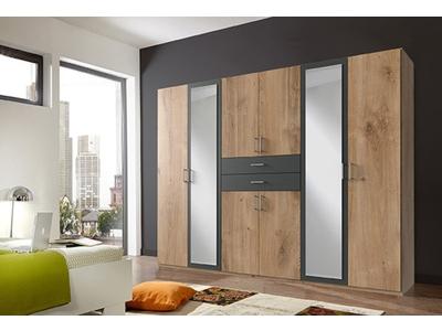 Armoire 8 portes 2 tiroirs