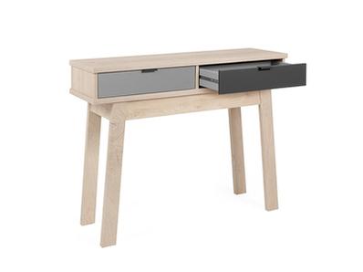 Console 2 tiroirs Pik