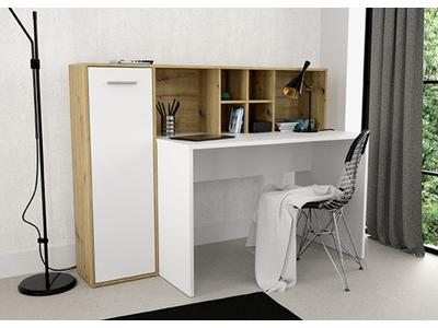 Bureau 1 porte + étagères Eradiu