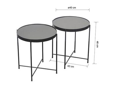 Set de 2 tables basses