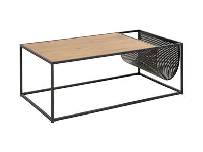 Table basse avec porte revue