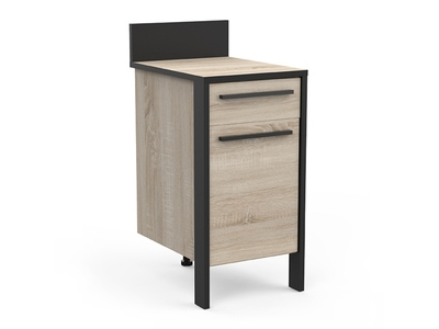 Bas 1 porte 1 tiroir Industry