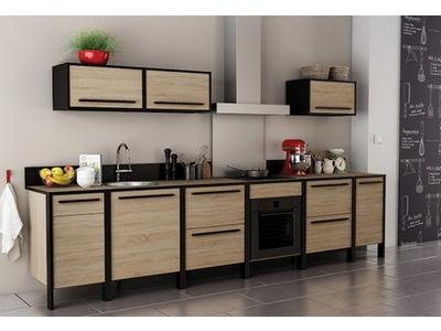 Bas 2 tiroirs Industry